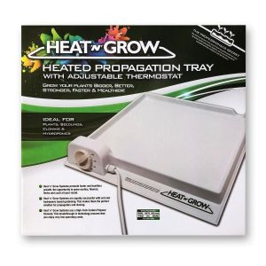 Heat'n'Grow Heat Tray - single with thermostat