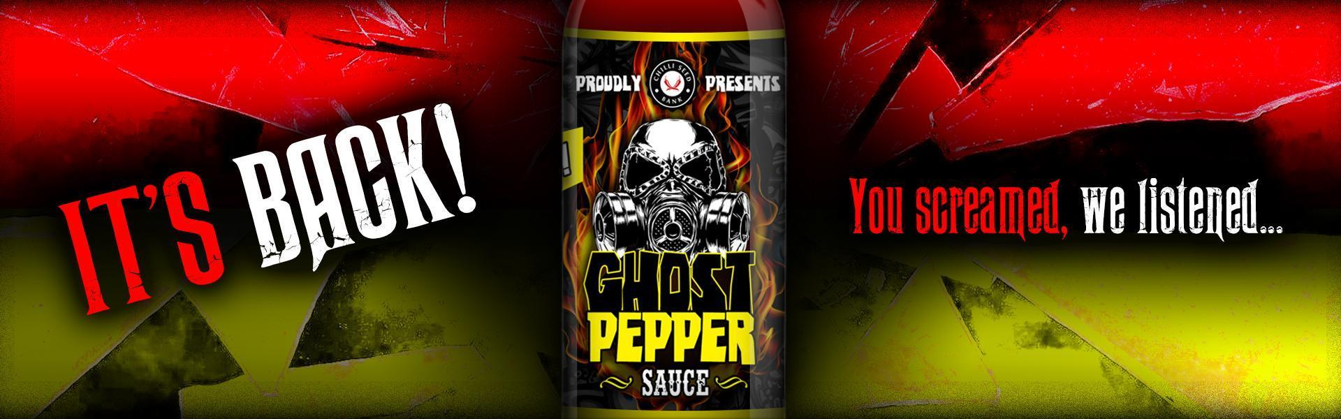 Buy Ghost Pepper Sauce