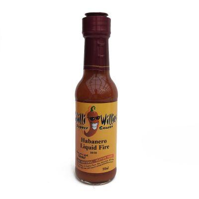 Chilli Willies Habanero Liquid Fire
