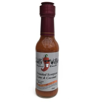 Chilli Willies Trinidad Scorpion Lime and Coconut