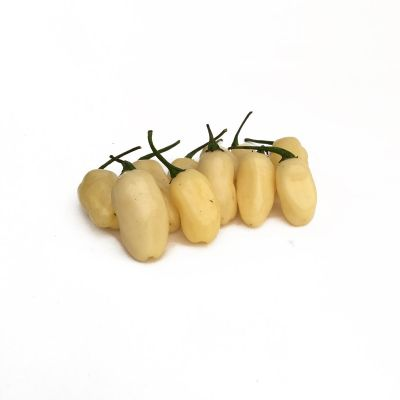 Habanero White Jelly Bean