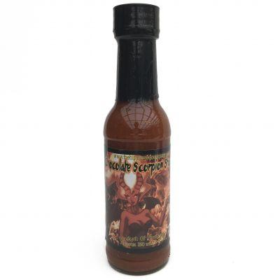 THSC Chocolate Scorpion Shock Chilli Sauce