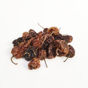 Whole dried Habanero chilli